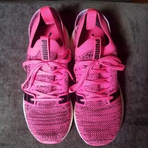 Puma Sneakers, Pink, Womens Size 8